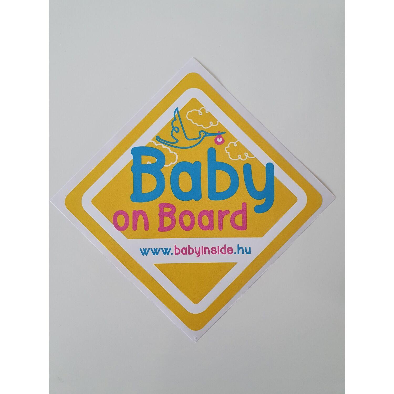Baby on Board autósmatrica