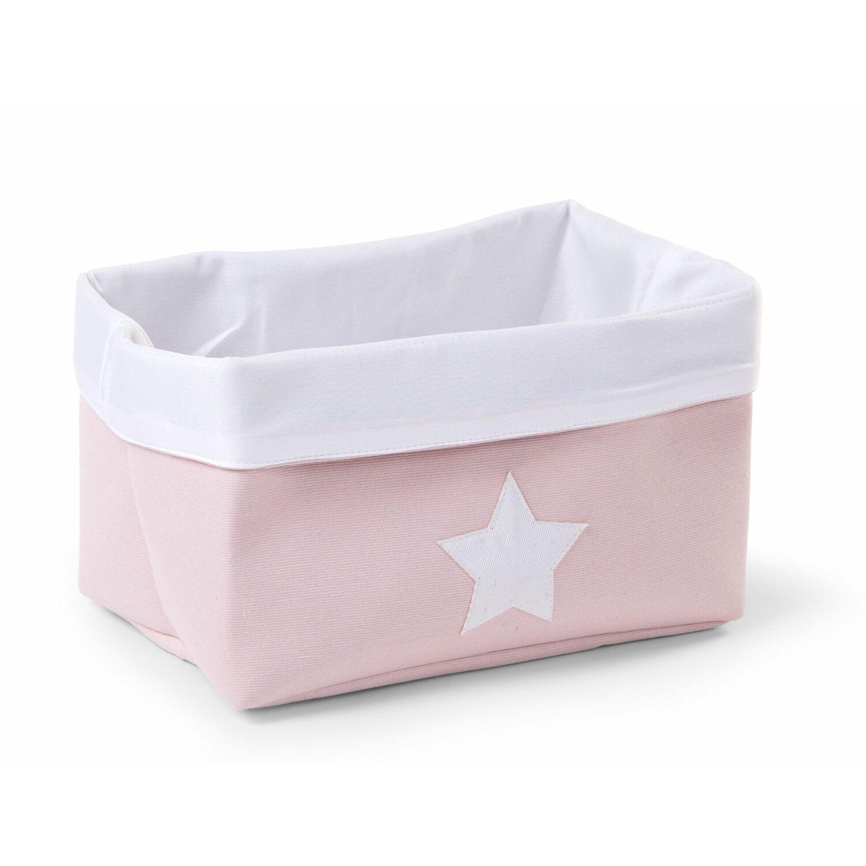 Tároló kosár Soft pink-white