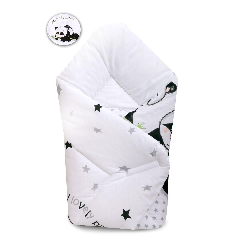 Baby Wrap újszülött KÓKUSZPÓLYA Panda Banda