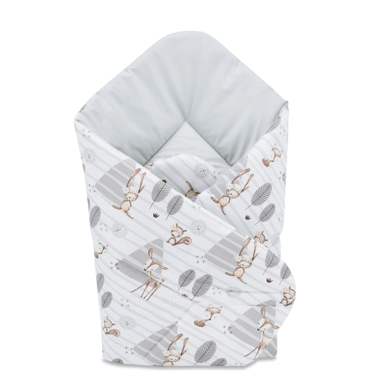 Baby Wrap újszülött KÓKUSZPÓLYA Mesés erdő