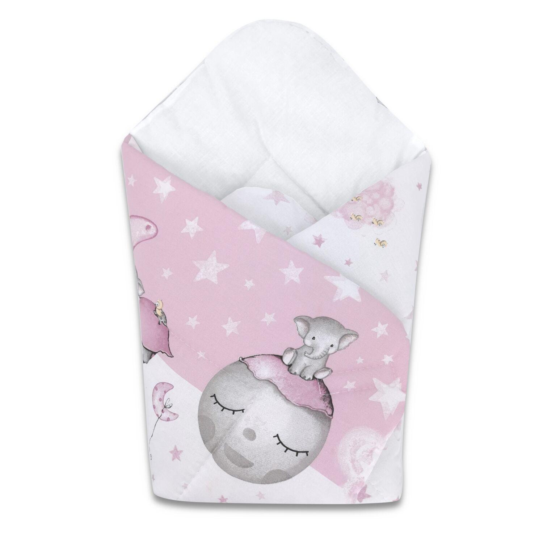 Baby Wrap újszülött KÓKUSZPÓLYA Pink Ella