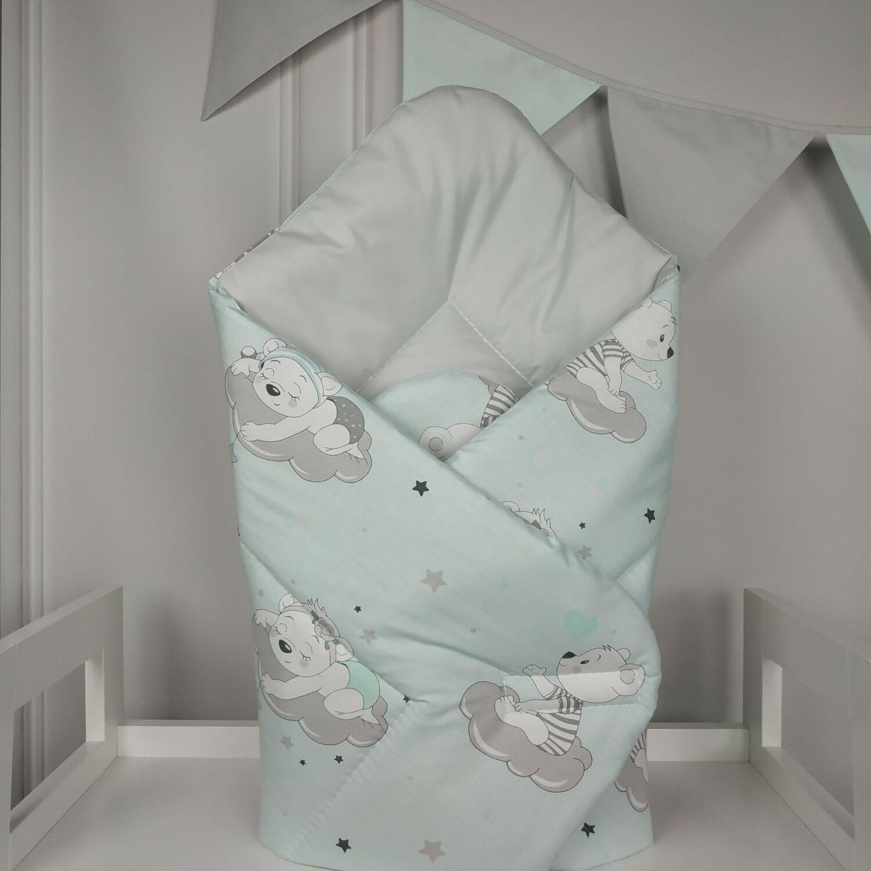 Baby Wrap újszülött KÓKUSZPÓLYA Sleepi Bear