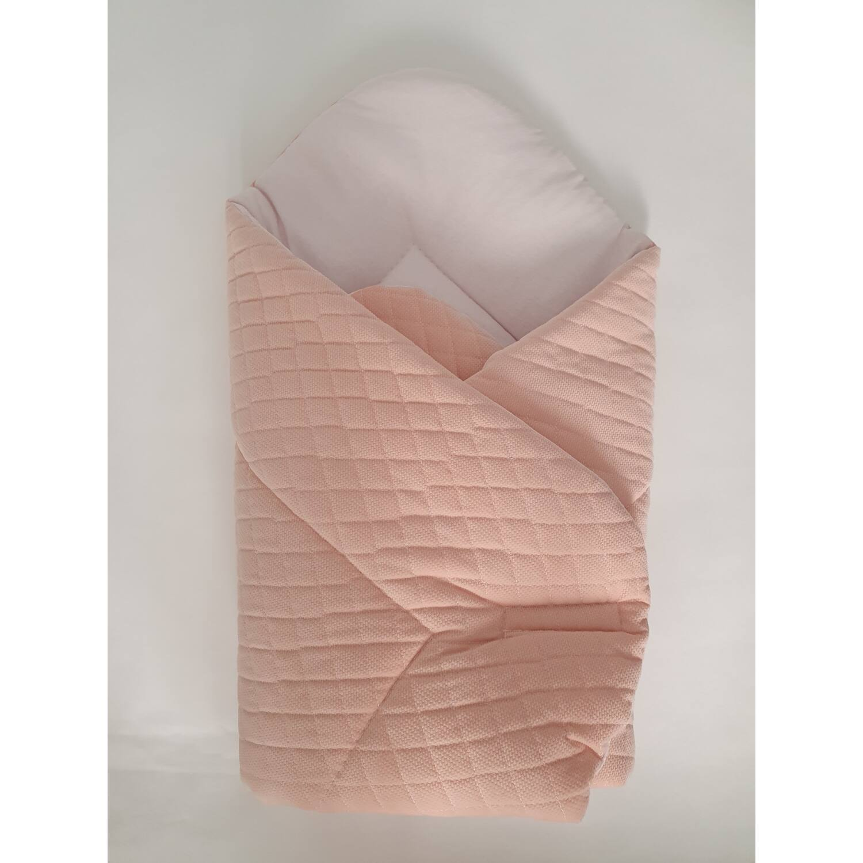Baby Wrap újszülött pólya prémium VELVET barack