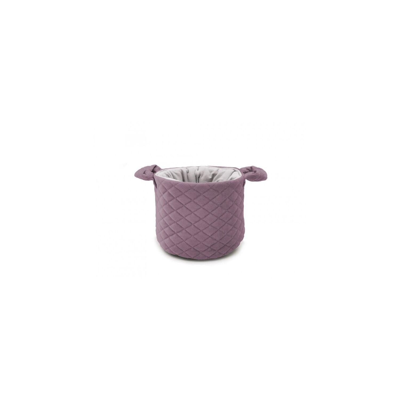 Kerek tároló prémium velvet violet