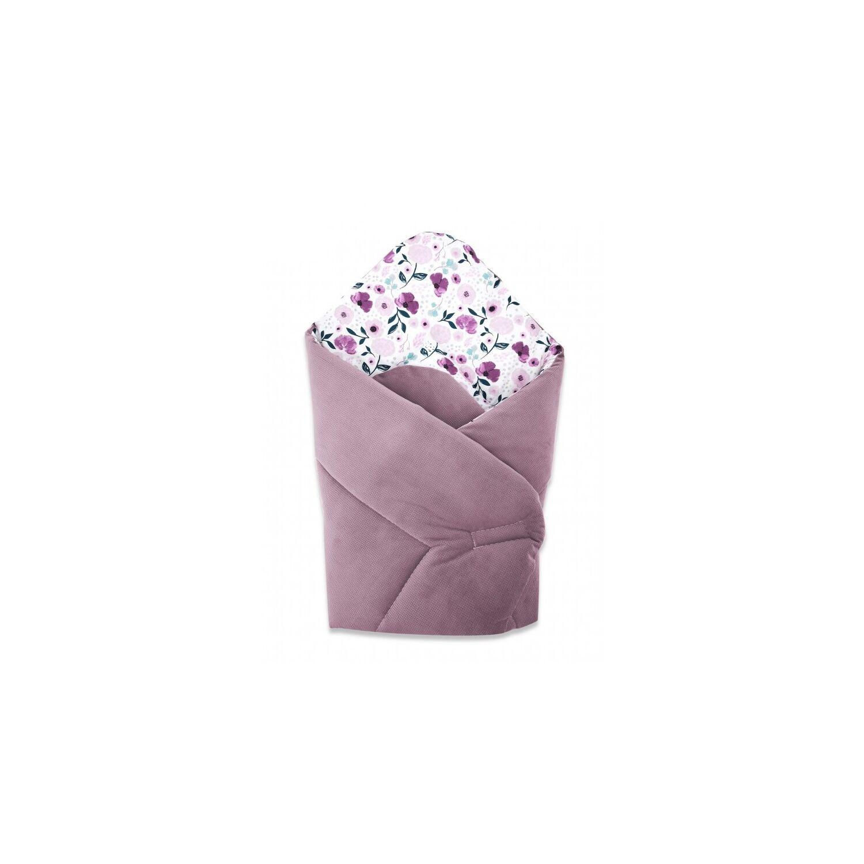 Baby Wrap újszülött pólya prémium VELVET Violet