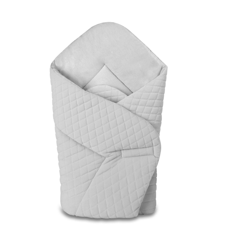 Baby Wrap újszülött pólya prémium VELVET szürke
