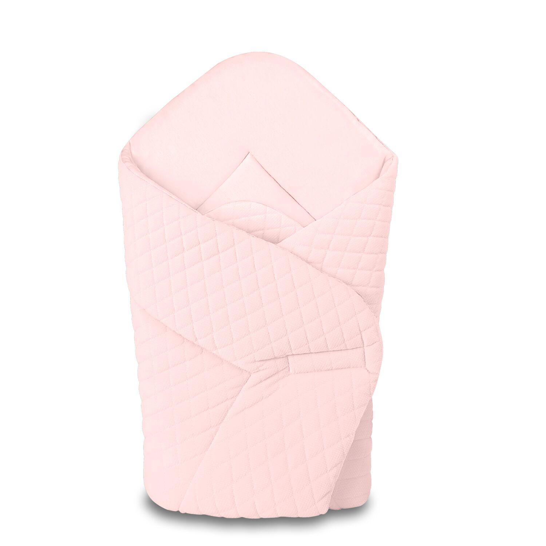 Baby Wrap újszülött pólya prémium VELVET rózsaszín