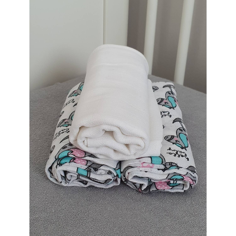 3 db-os textilpelenka válogatás HINTALÓ