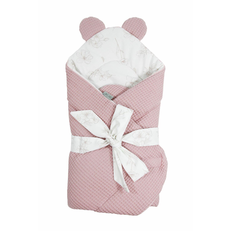 Prémium Baby Wrap újszülött macifüles pólya Love