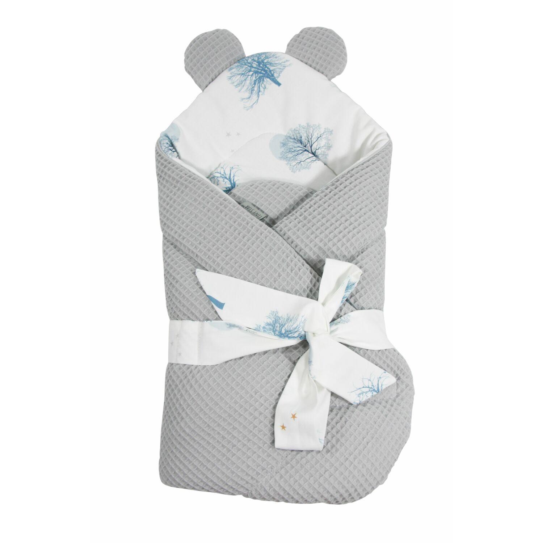 Prémium Baby Wrap újszülött macifüles pólya Magic