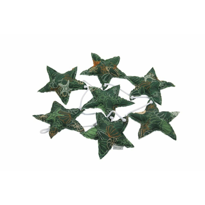 Csillag girland Shells