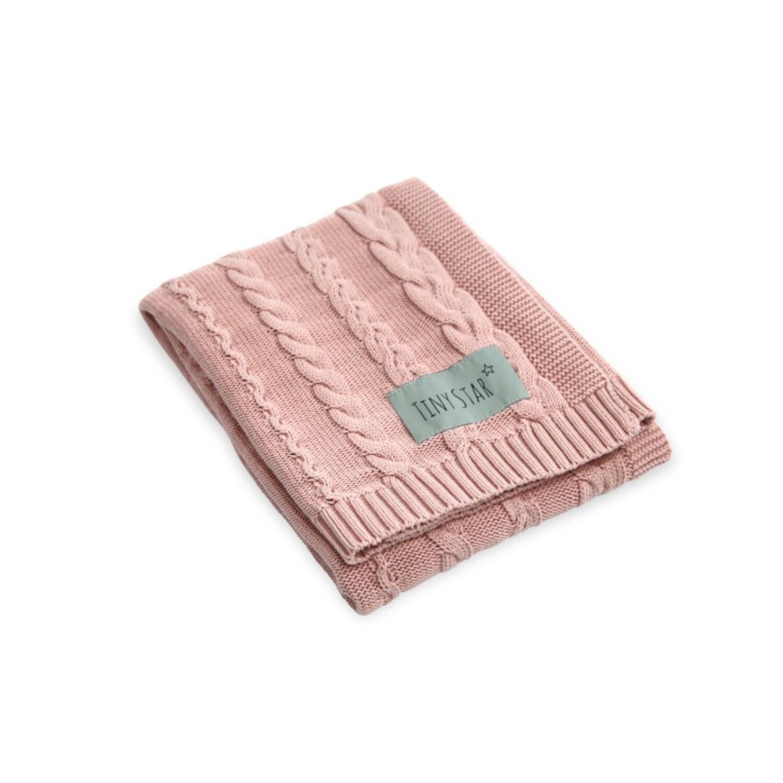Prémium kötött takaró púder