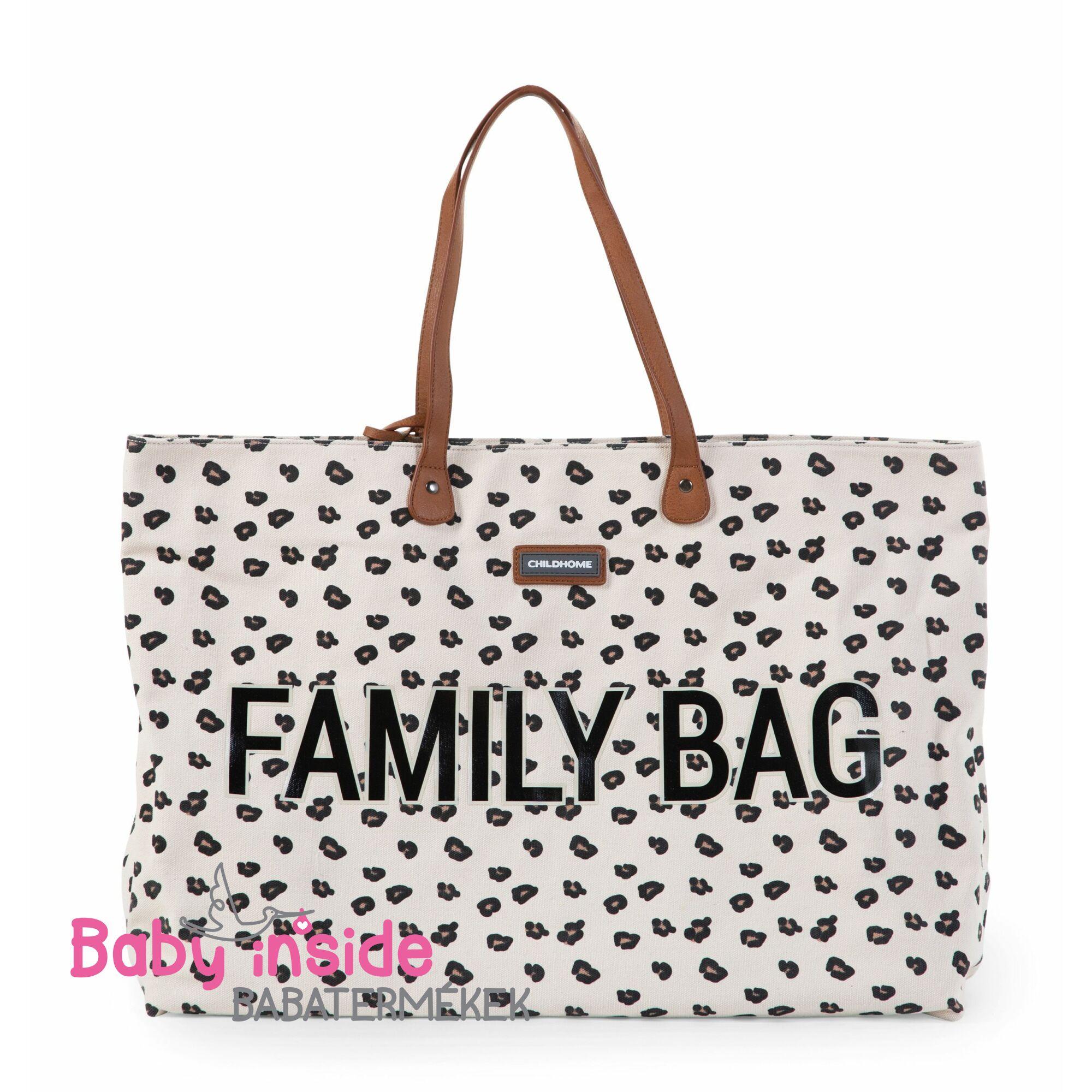 Family Bag - Leopard