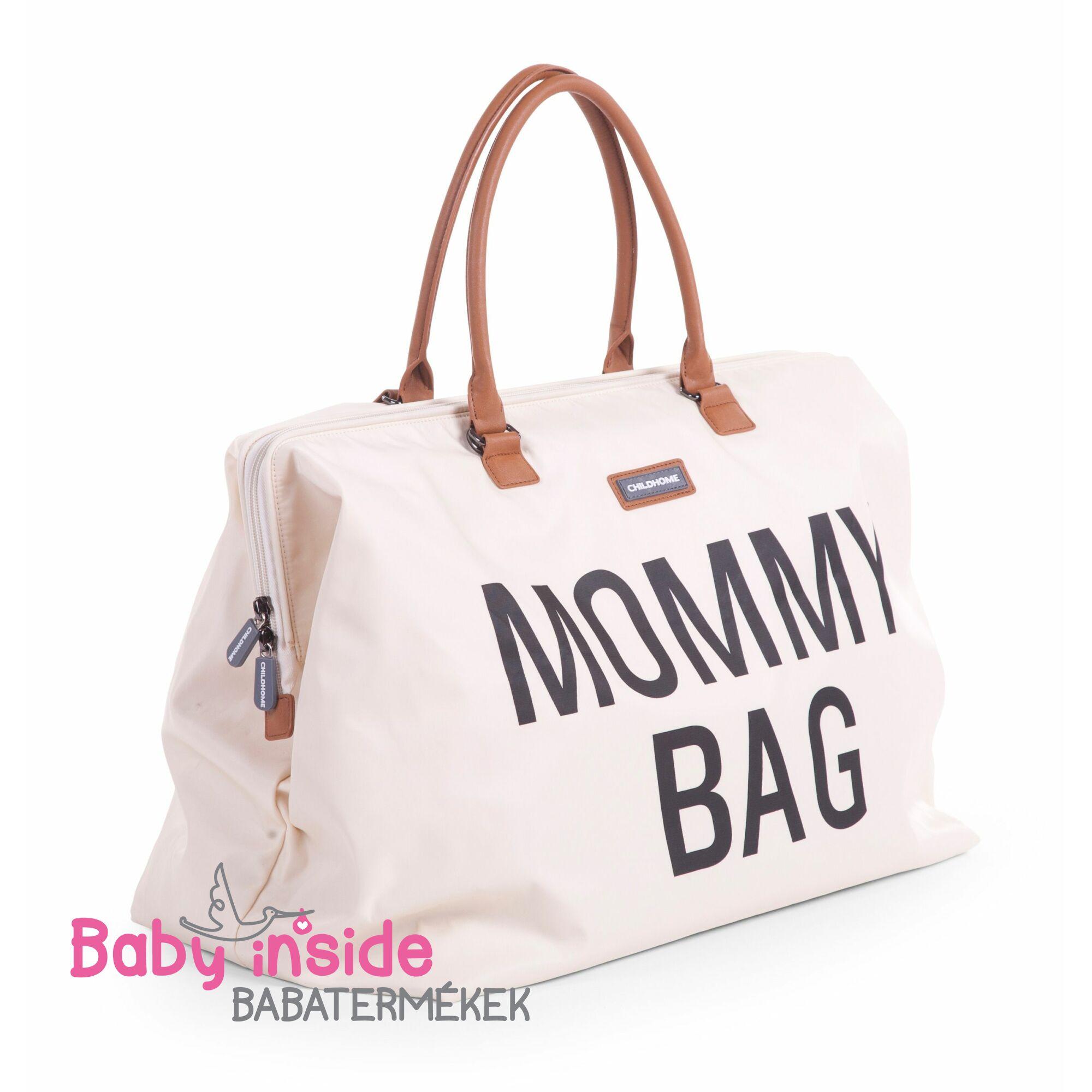 Mommy Bag - Off White Black