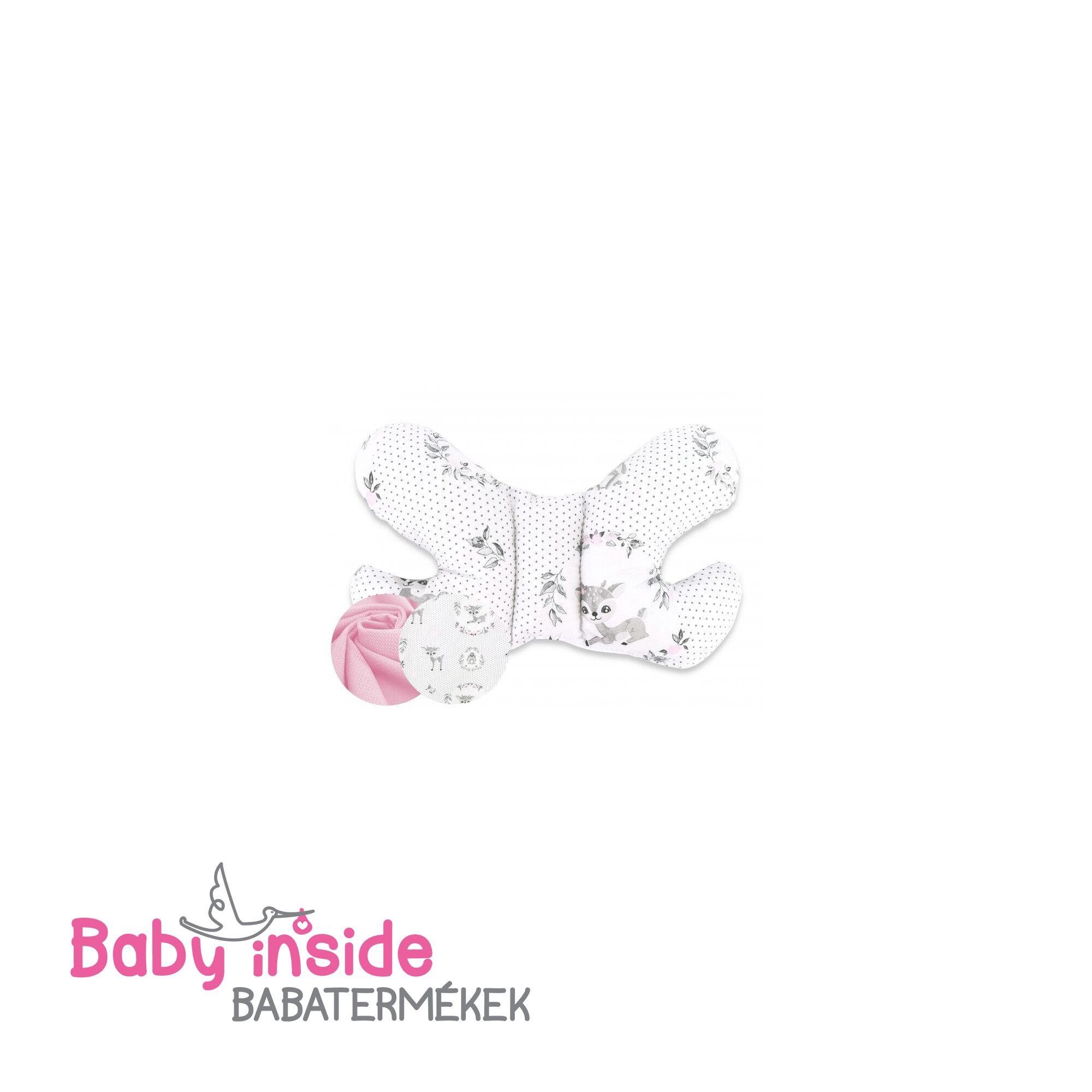 Pillangó párna prémium VELVET Bambini