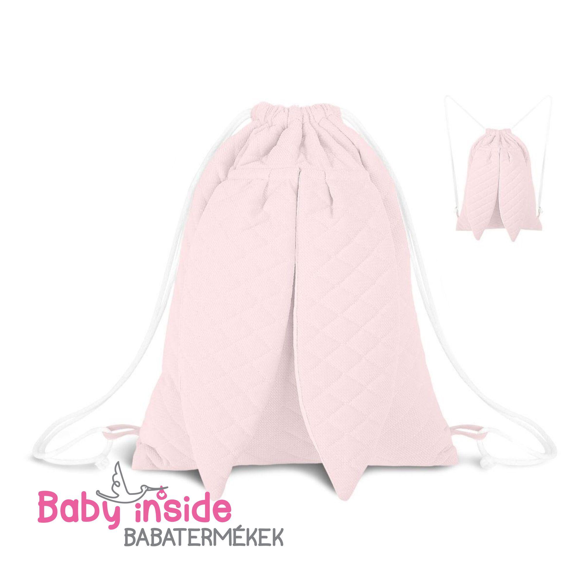 Nyuszis hátizsák rózsaszín
