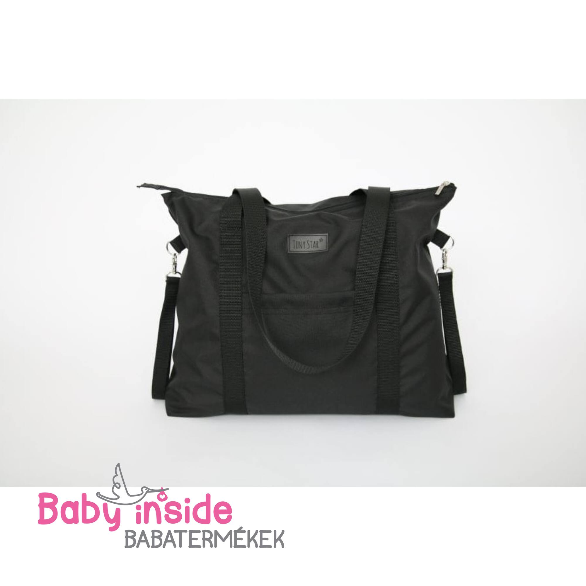 Prémium pelenkázó táska - Black