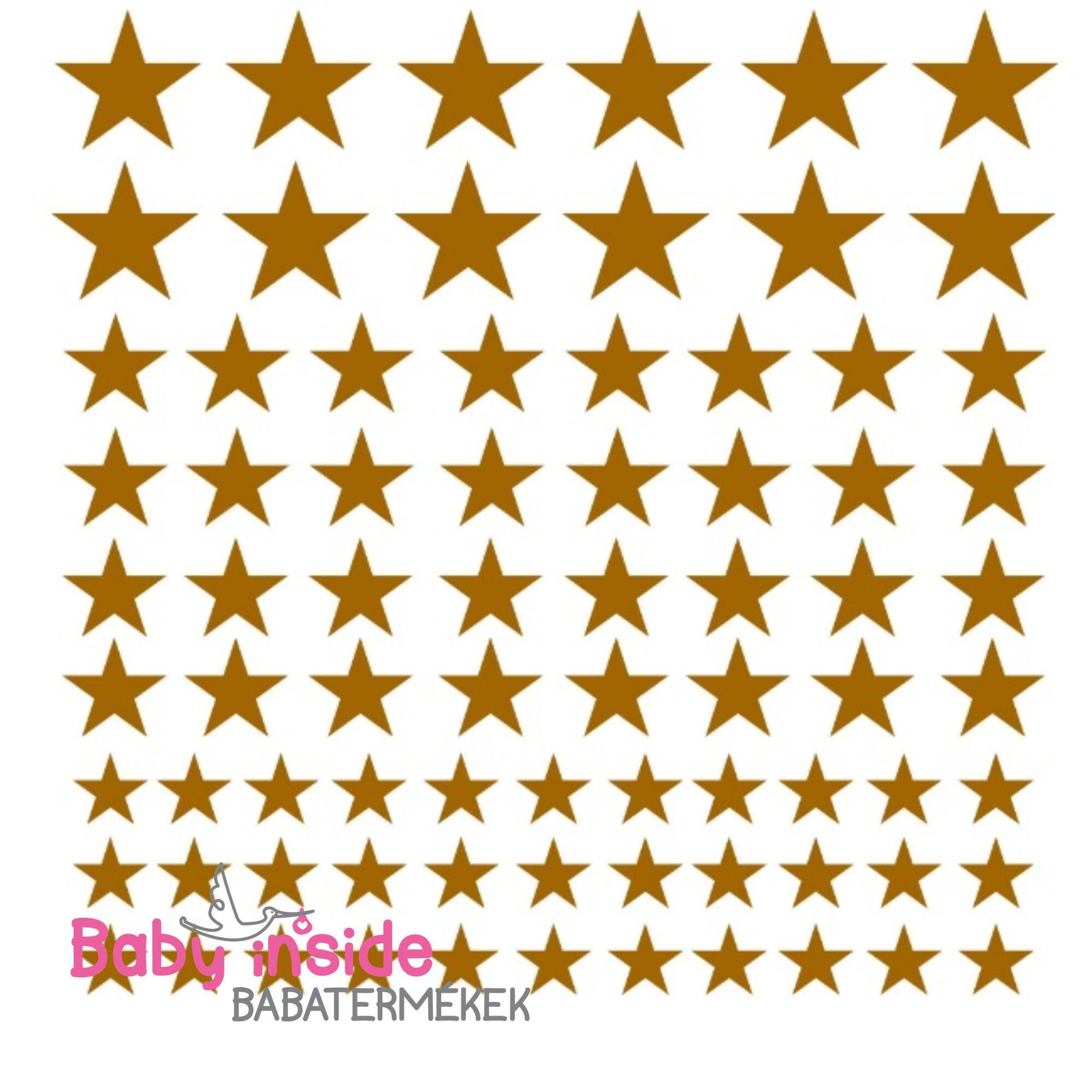 Falmatrica arany csillagok