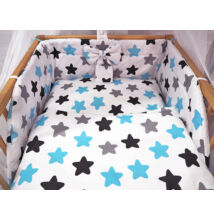 Ágynemű garnitúra 3 részes csillagos