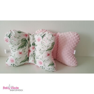 Pillangó párna Rosa Floral