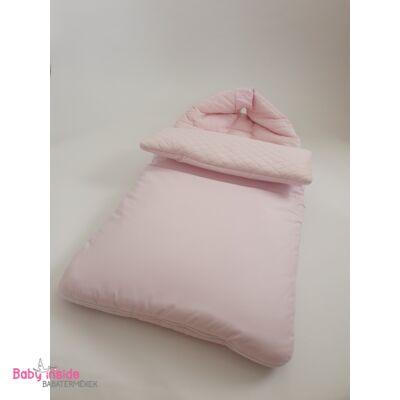 Bundazsák prémium velvet rózsaszín