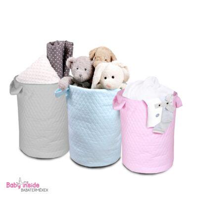 Játéktároló rózsaszín MINIMÁL kollekció