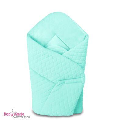 Baby Wrap újszülött pólya prémium VELVET menta - Menta - Baby Inside ... a4bf003433