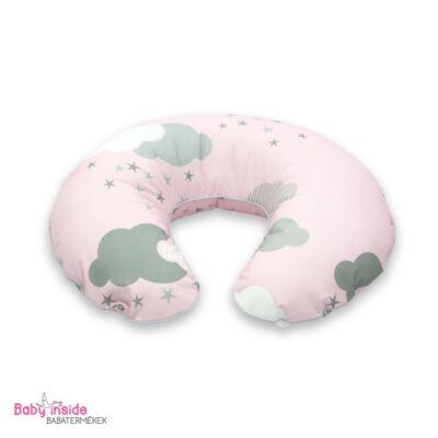 Prémium szoptatós párna rózsaszín felhős - Rózsaszín felhős - Baby ... 19676e7d45