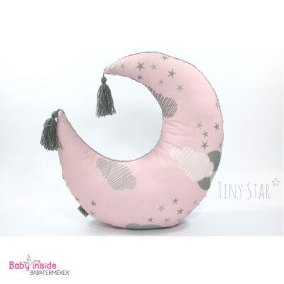 Holdpárna rózsaszín felhős