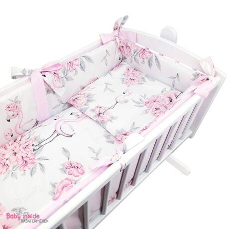 Bölcső ágynemű garnitúra Flamingo Paradise