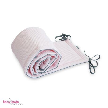 Prémium waffel rácsvédő rózsaszín