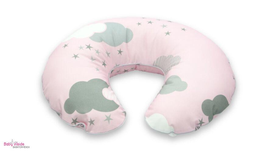 Prémium szoptatós párna rózsaszín felhős - Rózsaszín felhős - Baby ... dea9ddbf37