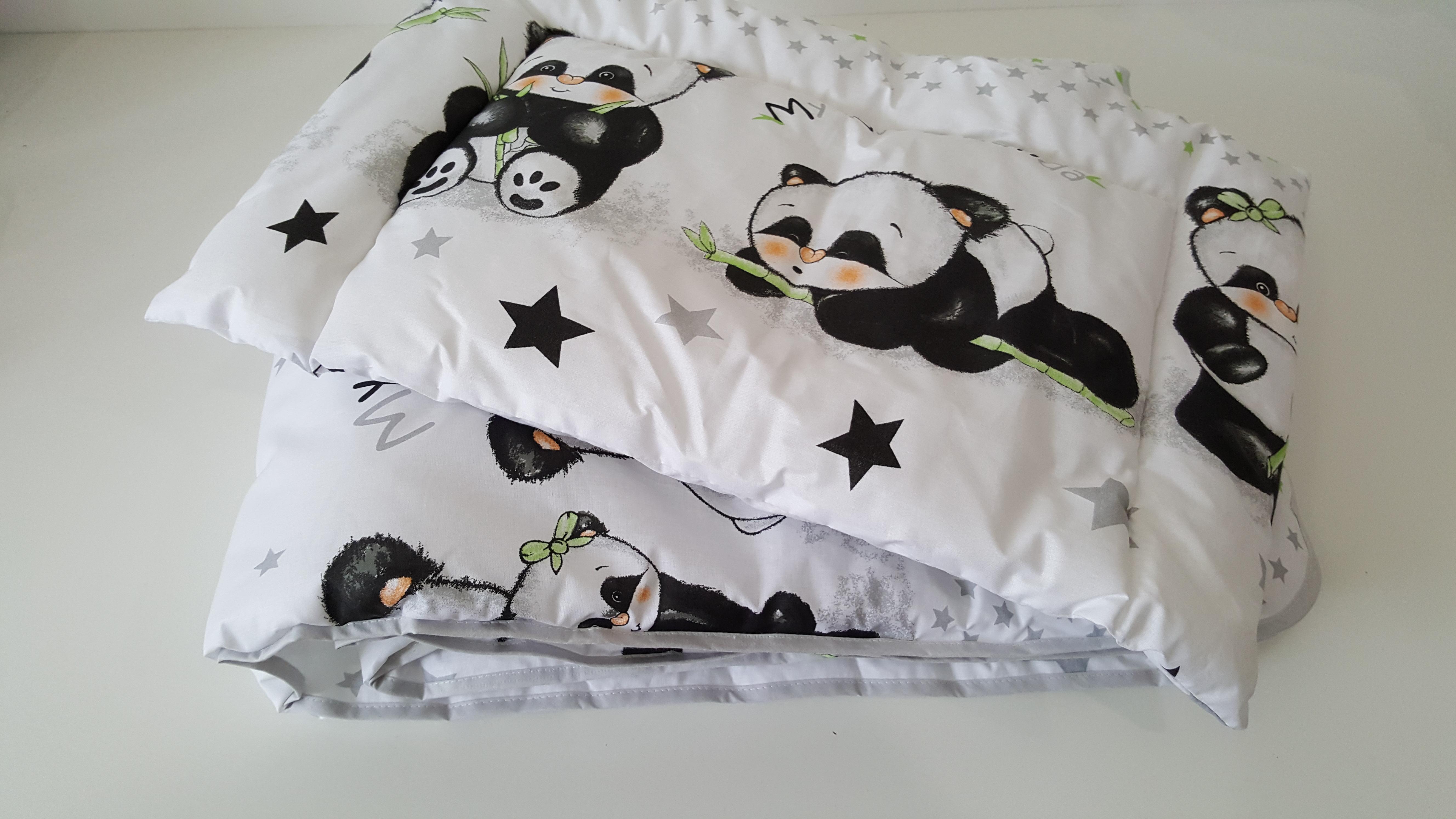 Ágynemű garnitúra 2 részes Panda Banda - 2 részes garnitúrák - Baby Inside  Babatermékek  dc978473f3